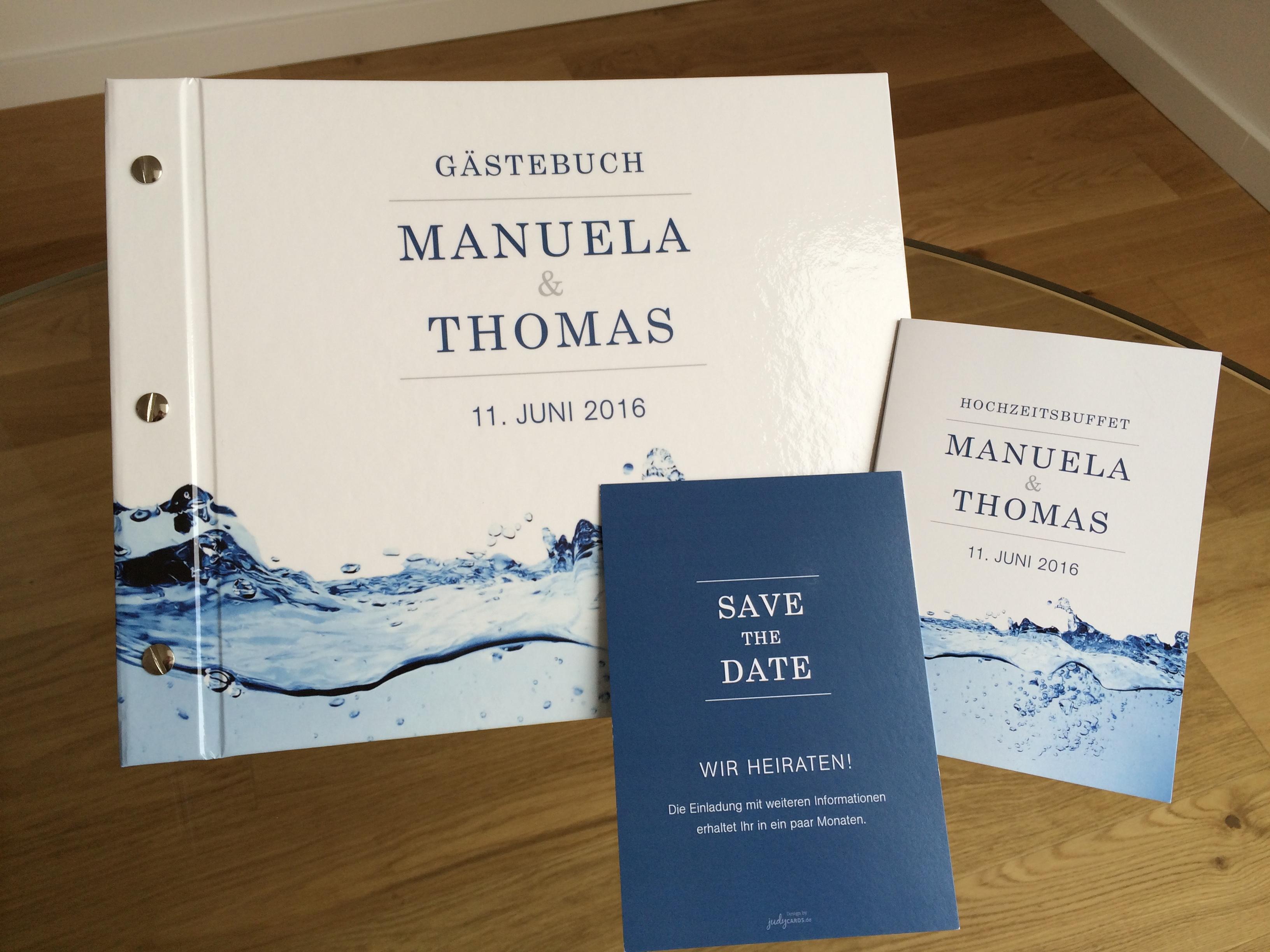 Individuelles Gästebuch für ihre Hochzeit