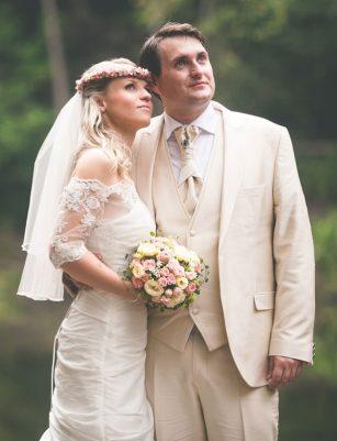 Hochzeitspaar Monique und Wulf