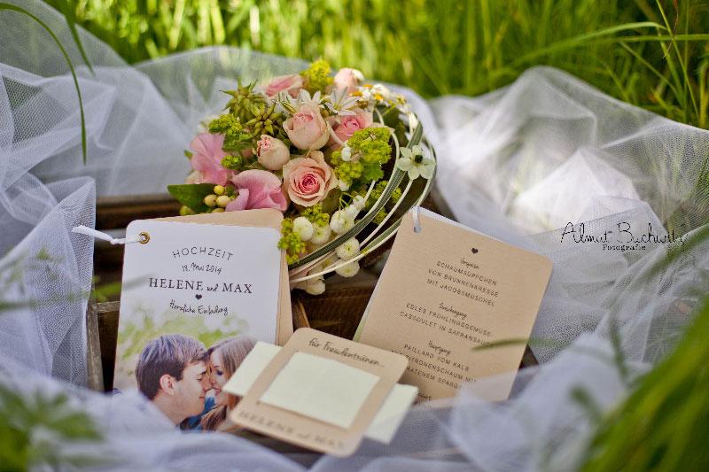 wunderschöne Hochzeitspapeterie