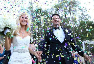 Zeitmanagement einer Hochzeit - Konfetti Timing