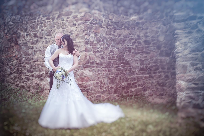 Romantische Kulisse auf Schloss Rochsburg
