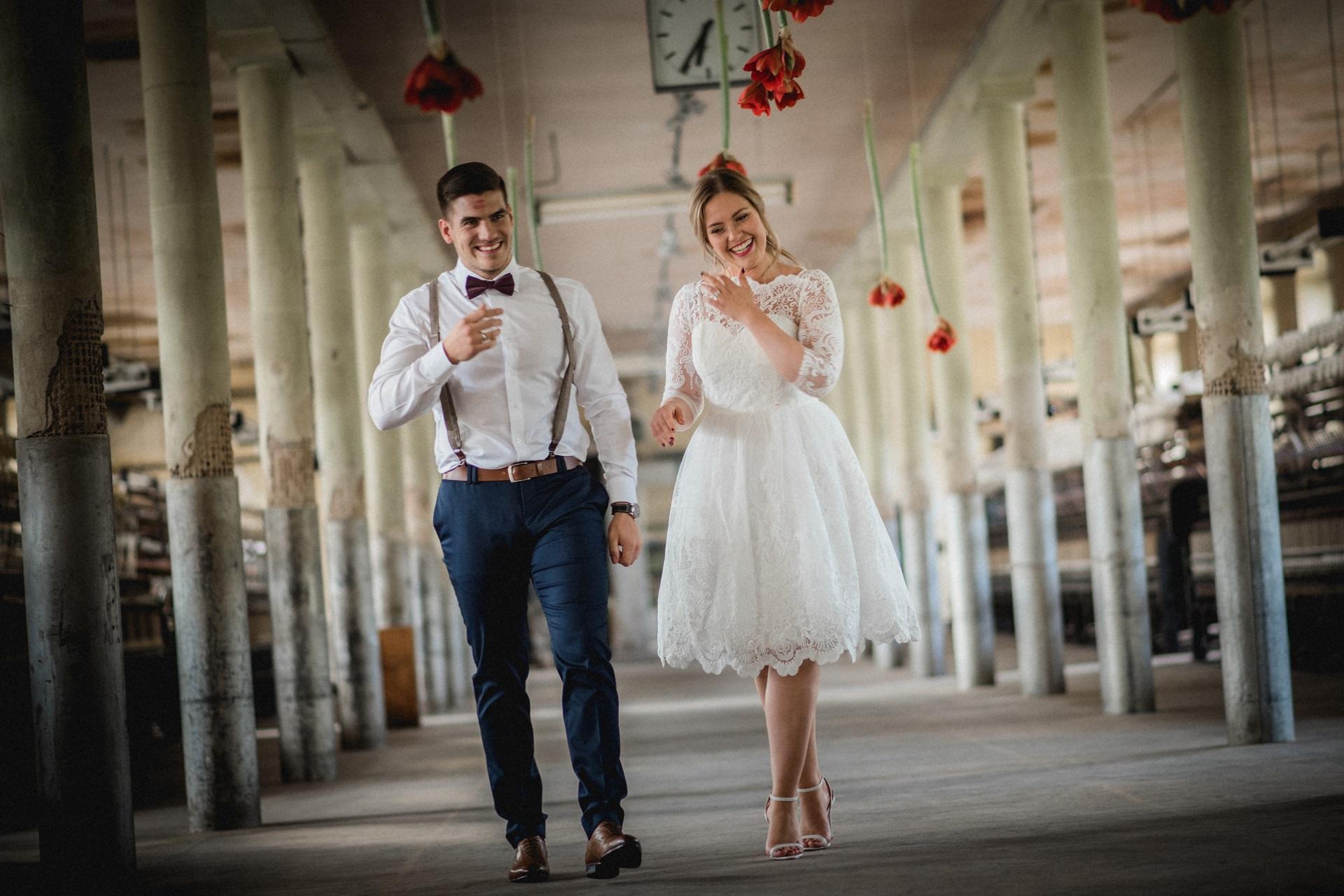 Hochzeitsdeko rote Amaryllis