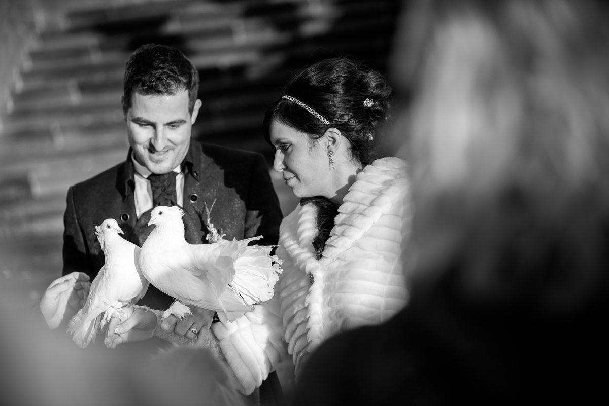 Ein schöner Hochzeitsbrauch