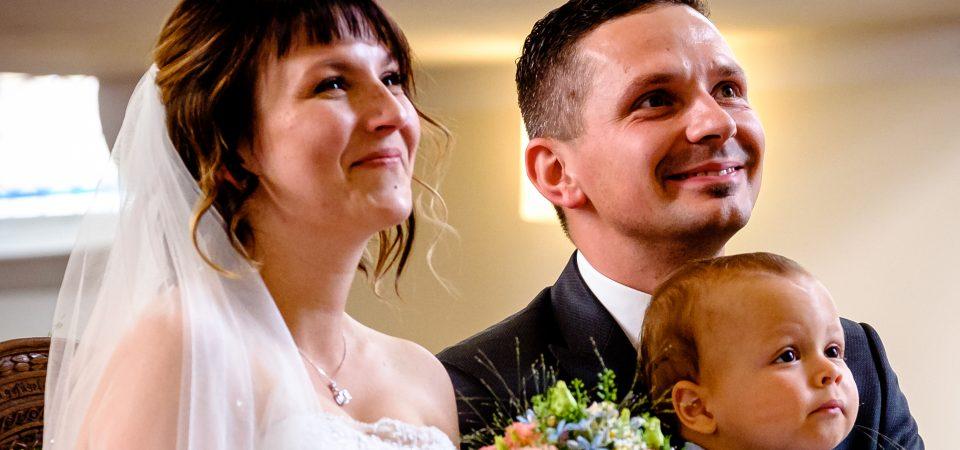 Eine stimmungsvolle Hochzeit mit kirchlicher Trauung
